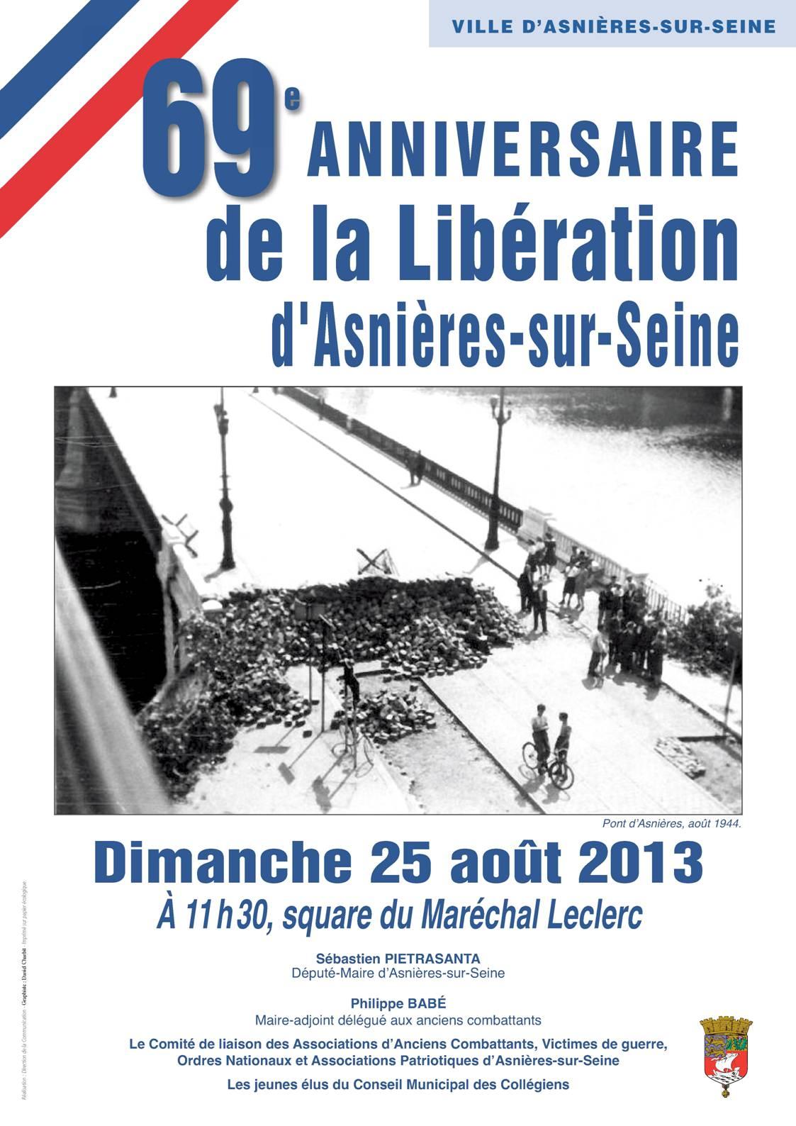 Libération d'Asnières 2013